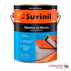 Resina Acrílica Base Solvente 18L Suvinil - Corante Tintas