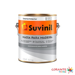 Massa para Madeira 3,6L Suvinil - Corante Tintas