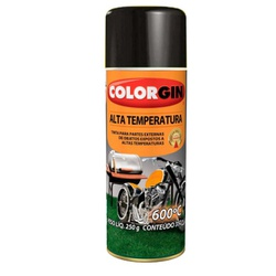 Spray Alta Temperatura Colorgin - Corante Tintas