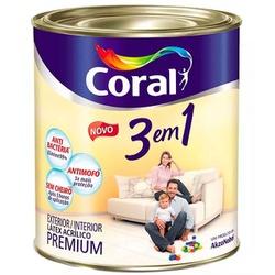 3 em 1 Premium Fosco Coral - Corante Tintas