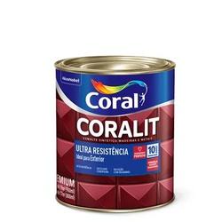 Coralit Acetinado Ultra Resistencia 900ML Coral - Corante Tintas