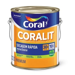 Coralit Acetinado Secagem Rapida Balance 3,6L Cora - Corante Tintas