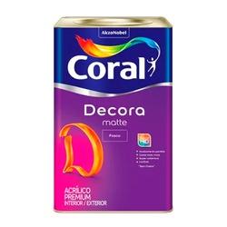 Decora Matte Fosco 18L Coral - Corante Tintas