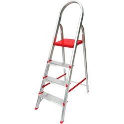 Escada Aluminio 04 Degraus Botafogo - Corante Tintas