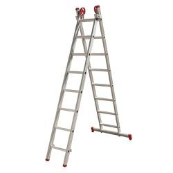 Escada Aluminio Extensiva 8 degraus Botafogo - Corante Tintas