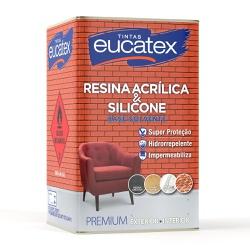Resina Acrilica Eucatex - Corante Tintas