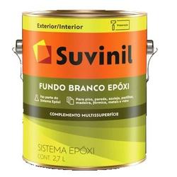 Fundo Branco Epóxi 2,7L Suvinil - Corante Tintas