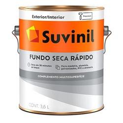 Fundo Seca Rápido 3,6L Suvinil - Corante Tintas