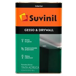 Gesso & Drywall 18L Suvinil - Corante Tintas