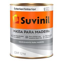 Massa para Madeira 1,3Kg Suvinil - Corante Tintas