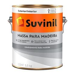 Massa para Madeira 5,5kg Suvinil - Corante Tintas
