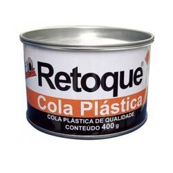 Massa Plastica Cinza com catalizador 400gr Retoque - Corante Tintas