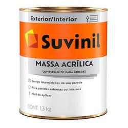 Massa Acrílica 1,3Kg Suvinil - Corante Tintas