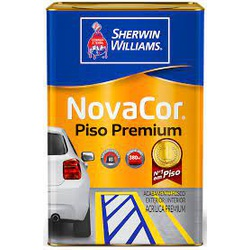 NovaCor Piso Premium Branco Sherwin Williams - Corante Tintas