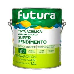 Super Rendimento 3,6L Futura - Corante Tintas