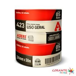 Fita Crepe 24x50 Adere (unidade) - Corante Tintas