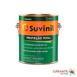 Proteção Total 3,2L Base Suvinil - Corante Tintas