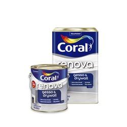 Renova Gesso e Drywall Coral - Corante Tintas