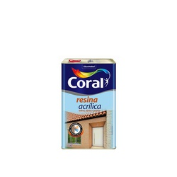 Resina Acrilica 5L Coral - Corante Tintas