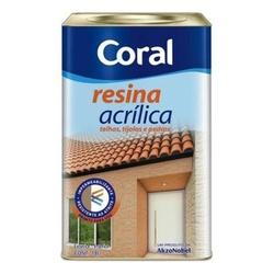 Resina Acrilica 18L Coral - Corante Tintas
