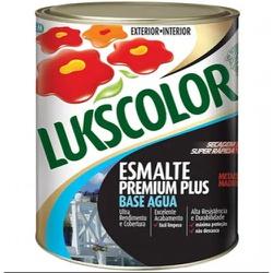 Tinta Esmalte Base Água Lata 0,900 Litros-Lukscolo... - Cores Vivas Home Center