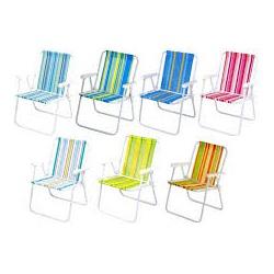 Cadeira Alta Aço Cores Sortidas-Mor - Cores Vivas Home Center