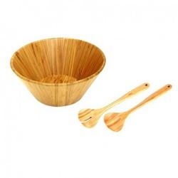Conjunto De Saladeiras Bamboo Com 3 Peças-Mor - Cores Vivas Home Center