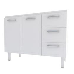 Gabinete Para Cozinha em Aço Apolo Flat 1,20 Metro... - Cores Vivas Home Center