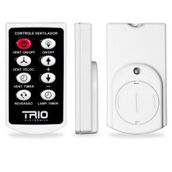 Controle Remoto para Ventilador 200W Bivolt-Trio - Cores Vivas Home Center