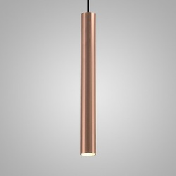Pendente Usina Design Linha Ducto 57 Cobreado-110x... - Cores Vivas Home Center