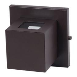 Arandela Box 2 Focos 7,5x7,5x7,5cm Com Vidro 307/2... - Cores Vivas Home Center