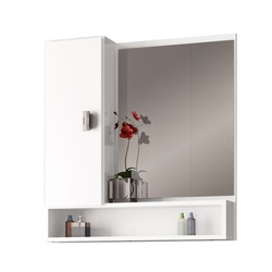 Espelheira Orquídea MDF 60Cm Branca-Cozimax - Cores Vivas Home Center