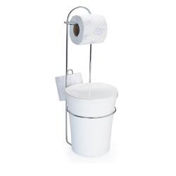 Porta Papel Higienico Com Lixeira-Arthi - Cores Vivas Home Center