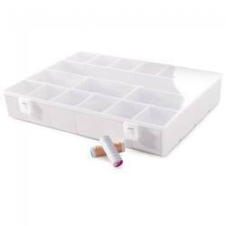 Caixa Duo com 16 Divisórias Branca-Plasútil - Cores Vivas Home Center