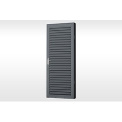 Porta Laminada Aço de Abrir Extra 215x75x7cm Mic - Cores Vivas Home Center