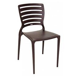 Cadeira Tramontina Sofia Marrom Encosto Vazado - Cores Vivas Home Center
