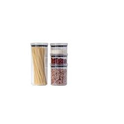 Kit 4 Potes Hermetic Lumini Redondos-Paramount - Cores Vivas Home Center