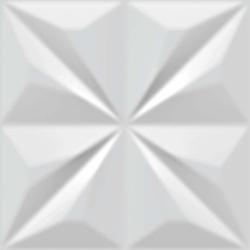 Revestimento Ceral Decor Diamante 20x20Cm Branco - Cores Vivas Home Center