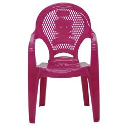 Cadeira Infantil Catty Rosa 92264/060-Tramontina - Cores Vivas Home Center