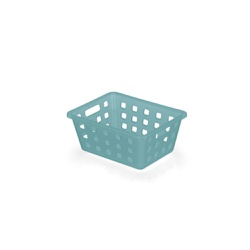 Caixa Organizadora Squares 1 18,5x14x8cm Azul-Arth - Cores Vivas Home Center