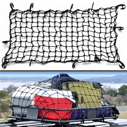 Rede Elástica Para Carga Com Ganchos 120 x 90 Cm -... - DANDARO