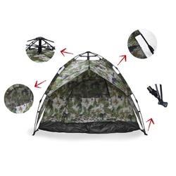 Barraca De Camping Iglu Automática Camuflada Até 3... - DANDARO