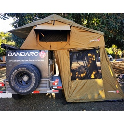 Barraca De Teto Automotivo Dandaro Apache 5 - Comp... - DANDARO