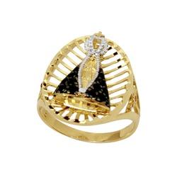 Anel N.S. Aparecida em ouro 18k - 01155006 - DELOVA