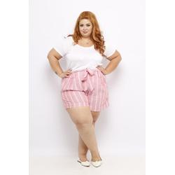 Blusa Podrinha Branca - Plus Size - DELPHINA