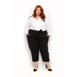 Camisa Social Branca - Plus Size - DELPHINA