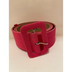 Cinto Forrado Linho Pink - Plus Size - DELPHINA