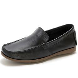 Sapato Mocassim Masculino Em Couro Legítimo Preto - D&R SHOES