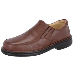 Sapato Masculino Conforto Em Couro Legítimo Marrom - D&R SHOES