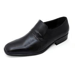 Sapato Social Sândalo Bourbon Napa Comfort Preto - D&R SHOES